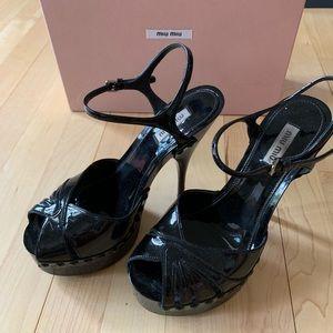 Miu Miu party shoes